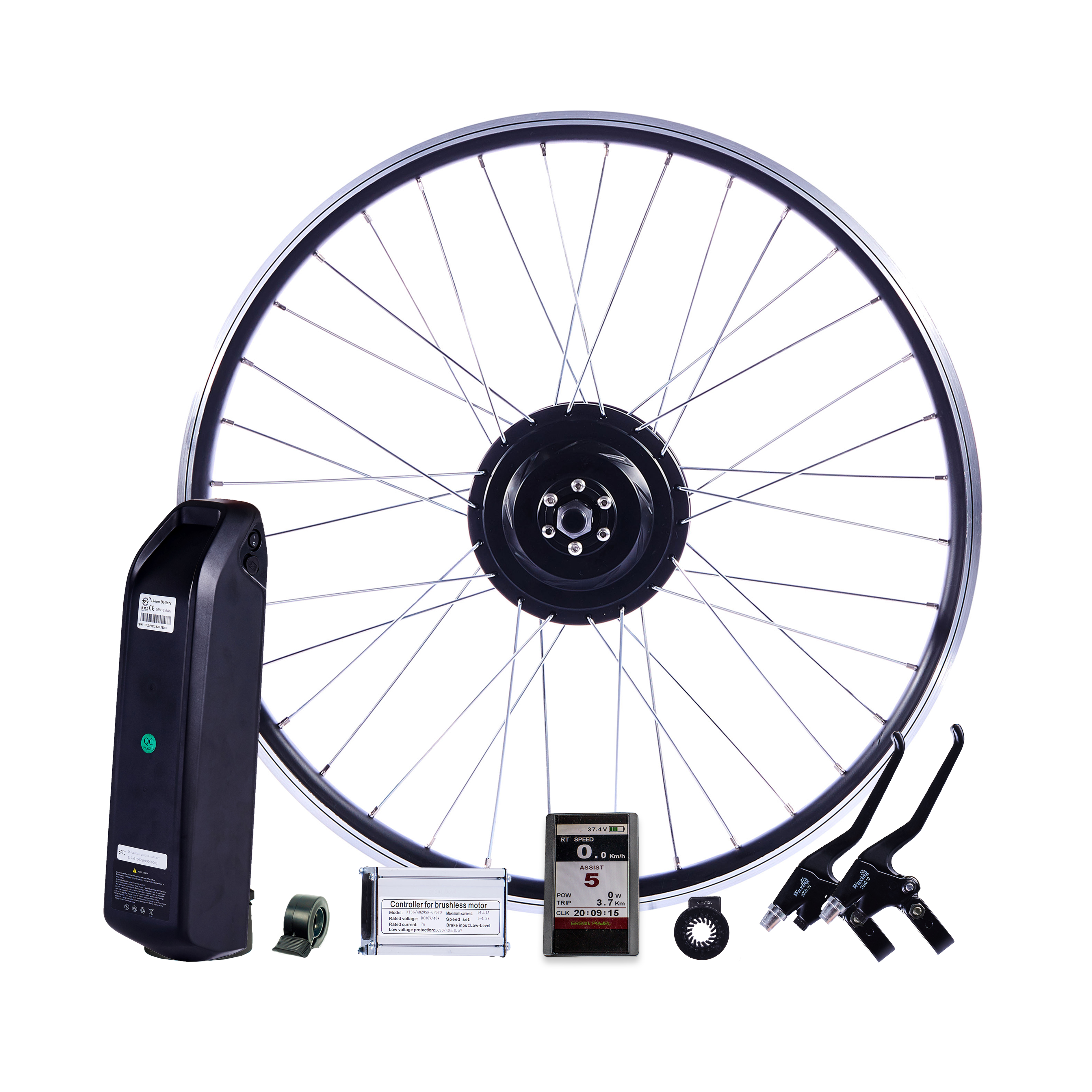 Greenpedel Electric Bike Solution 350W Electric Hub Motor Drive System